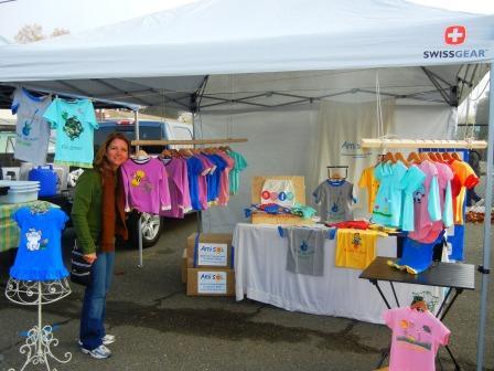 Ami Sol at the Santa Rosa Farmers Market