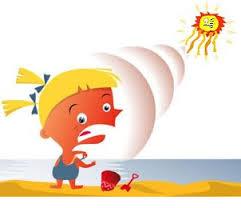 Sunburn image